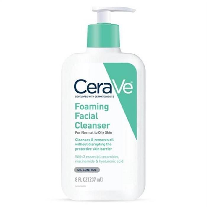 CeraVe Foaming Facial Cleanser  By CeraVe