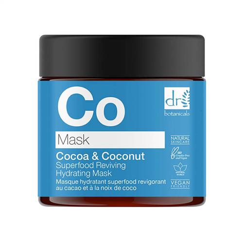 Dr Botanicals Cocoa & Coconut Reviving Hydrating Mask by Dr Botanicals   omorfiacodes